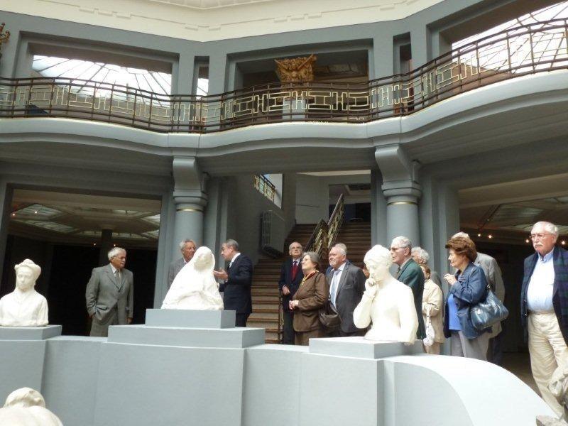 Visite de Tournai et de l'exposition « 101 chefs d'œuvre du musée des Beaux-Arts : de Manet à Dürer » (2012)