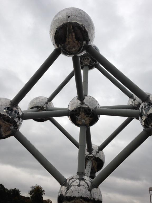 Visite de l'Atomium (2014)