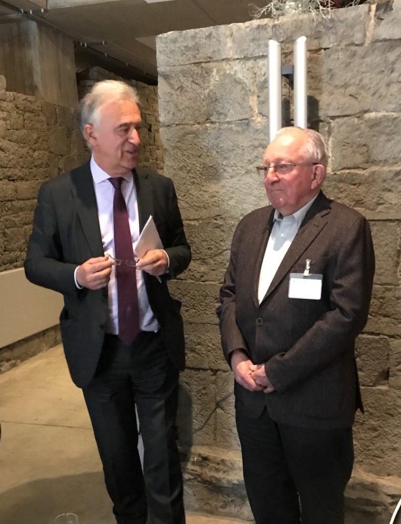 Hommage de l'AAPF à Etienne Knoops