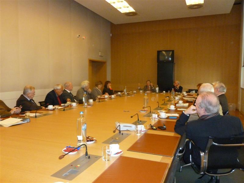 Rencontre-entretien avec M. Philippe Suinen, administrateur-général de Wallonie-Bruxelles International. Thème : Présence et action de la Fédération Wallonie-Bruxelles dans le monde