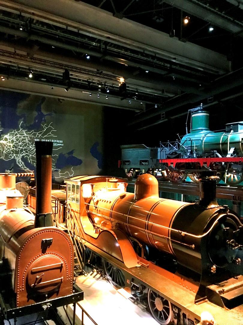 Visite du « Train World »
