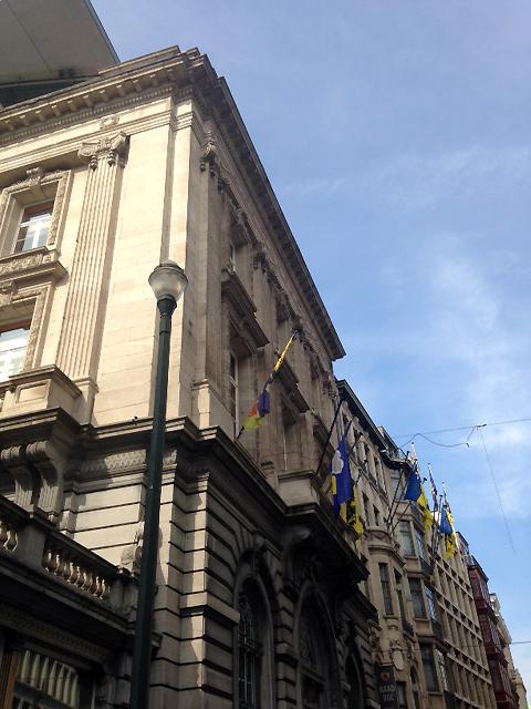 Visite du Parlement francophones bruxellois et rencontre avec Mme Julie de Groote, Présidente