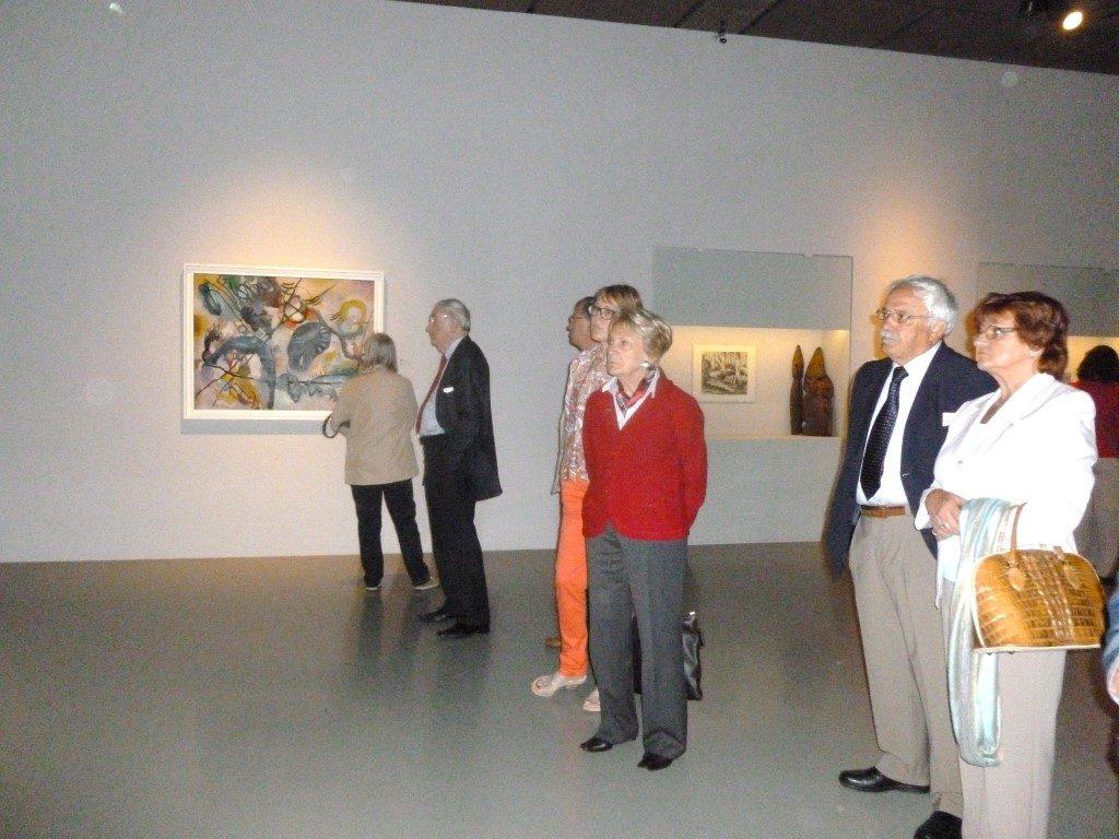 Visite de l'exposition « Kandinsky & Russia » ce 11 juin à Bruxelle