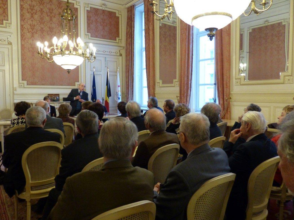 Vœux de l'AAPF ce 8 janviers 2015 au Parlement de la Fédération Wallonie-Bruxelles