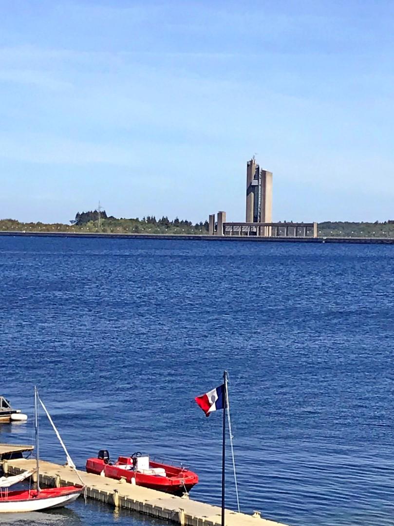 Visite des installations des Lacs de l'Eau d'Heure