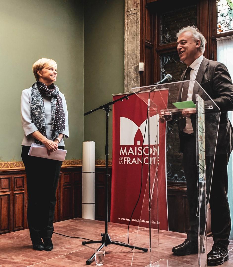 """Conférence de Fabienne REUTER – Jeudi 14 mars 2019 """"La Francophonie dans le monde »"""